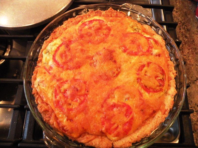 Tomato Pie Baked